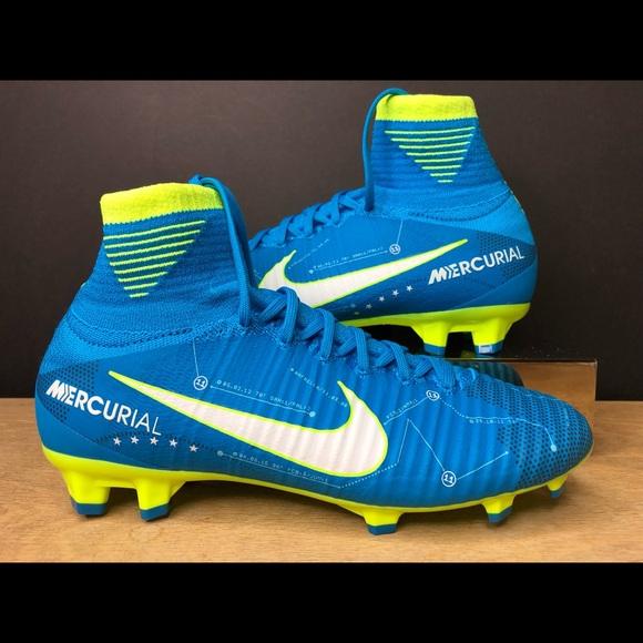 on sale 81491 e1e17 Nike Jr Mercurial Superfly DF Neymar Jr FG Soccer NWT